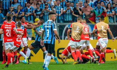 Gremio Inter batalla campal