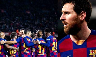 Los jugadores del Barcelona se bajaron el sueldo