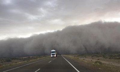Vientos intensos en la Patagonia