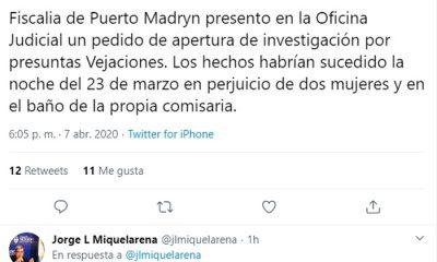 Vejaciones Madryn