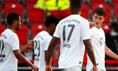 Bayern Munich recibe a Frankfurt
