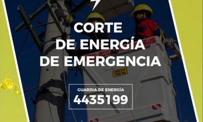 Corte de Energía de Emergencia Trelew