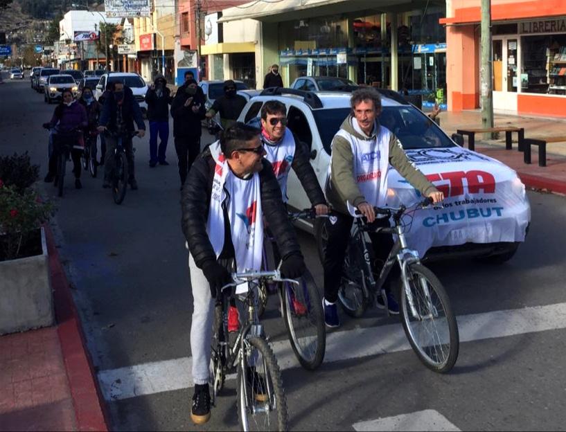 CGT preocupación docentes de Chubut