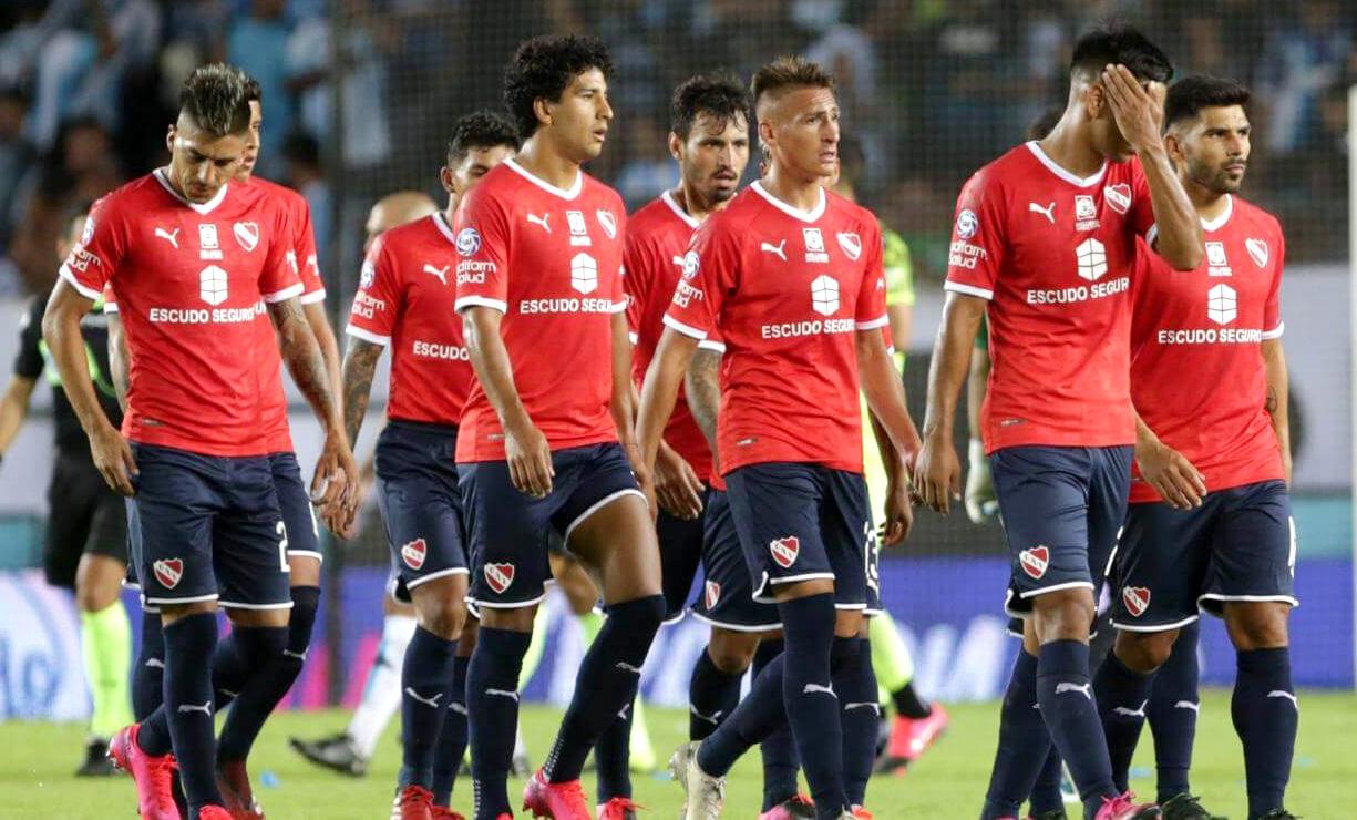 Independiente deuda ocho jugadores