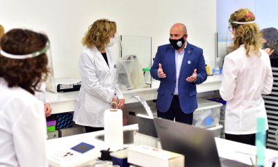 Sastre laboratorio ejemplar testeos Covid-19