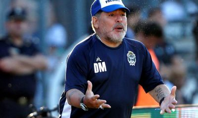 Maradona quiere seguir en Gimnasia