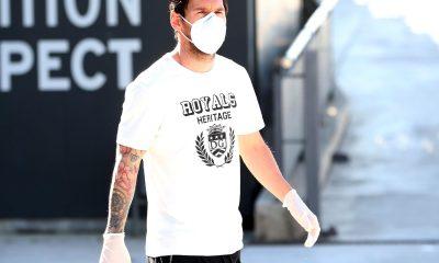 Messi test de coronavirus