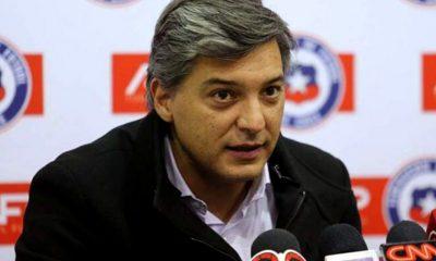 Moreno renunció como presidente de la Federación Chilena de fútbol