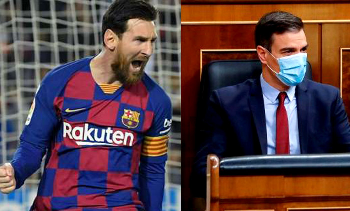 Messi vuelve a jugar en España