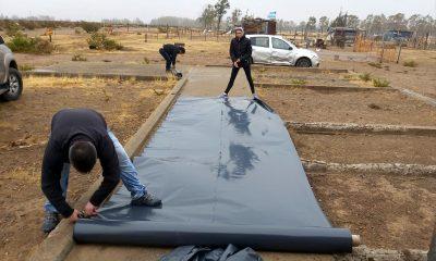 Trelew el municipio asiste a familias por las lluvias