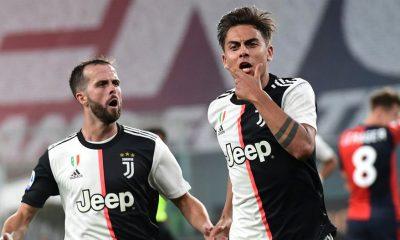 Dyabala gol ante el Genoa