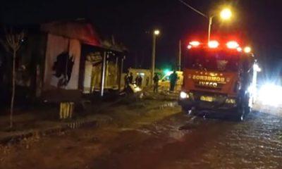 Incendio Neuquén un adolescente fallecido