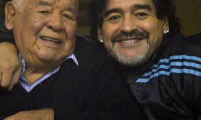 Maradona Día del Padre recuerdo de Don Diego