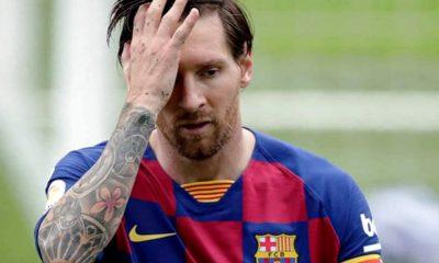 Messi sin 700 y Barcelona puso en riesgo la punta