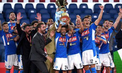 Napoli campeón de la Copa Italia