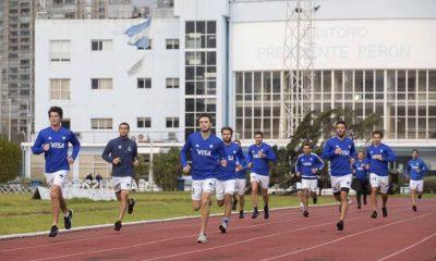 Los deportistas olímpicos volvieron a entrenar