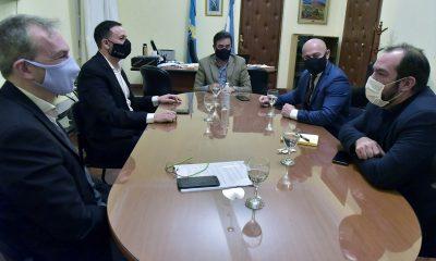Reunión del gabinete con Maderna