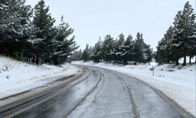Lluvias y nevadas en Chubut
