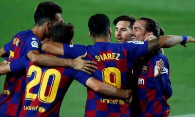 Barcelona hizo descender al Espanyol