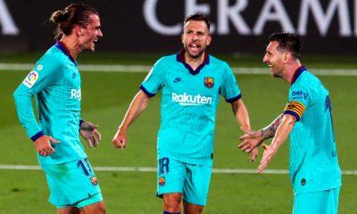 Barcelona goleó al Villarreal