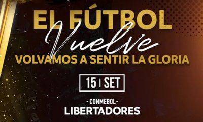 Cuatro clubes argentinos pidieron postergar el reinicio de la Libertadores