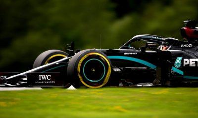 Mercedes dominó los entrenamientos de Austria