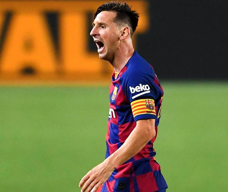 Messi no quiere renovar con el Barcelona