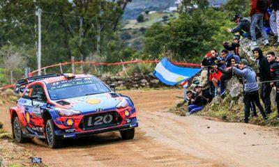 Rally de la Argentina cancelado