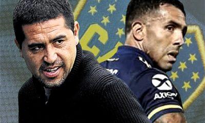 Tevez habló con Riquelme y seguirá en Boca