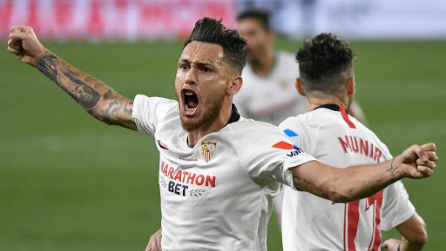 Ocampos hizo todo para el triunfo del Sevilla
