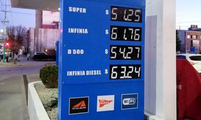 Aumento de combustibles YPF