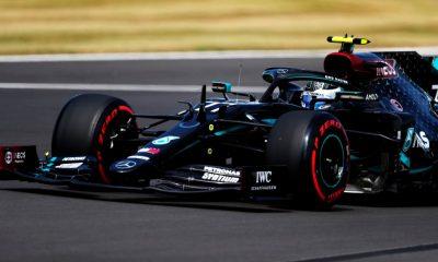 Bottas pole position Silverstone