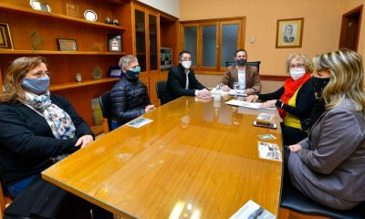 Maderna reunión con el Rotary