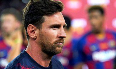 Messi cambió de estrategia