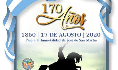 Rawson 170º aniversario San Martín