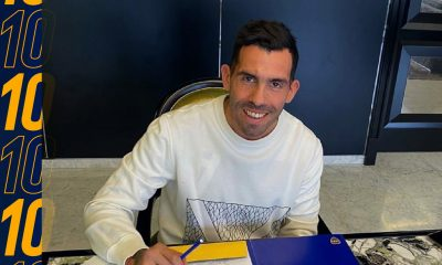 Tevez renovó el contrato con Boca