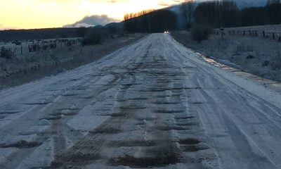 Ruta 17 entre Trevelin y Corcovado pesimo estado