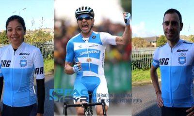 Balito selección argentina de ciclismo