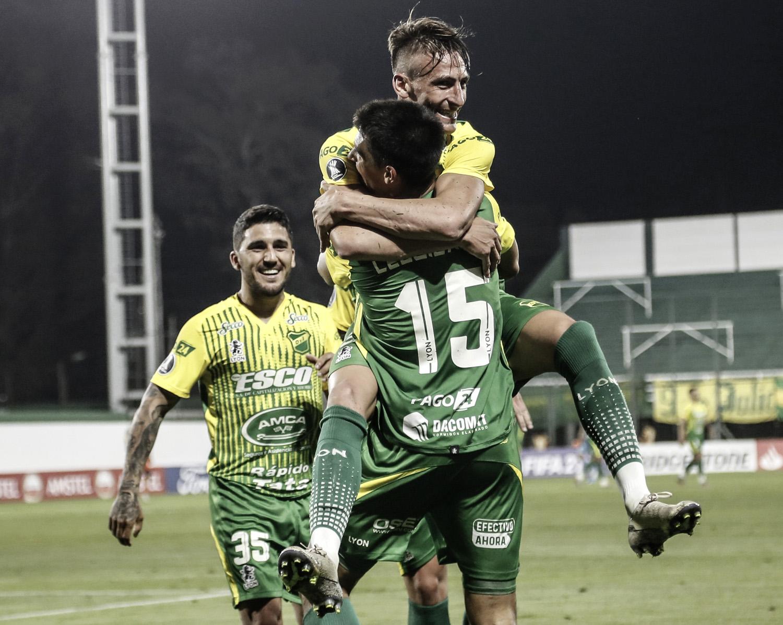 Defensa y Justicia primer triunfo en la Copa