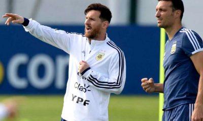 Messi en la lista de la selección Di María afuera