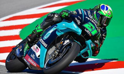 Morbidelli el más rápido en Montmeló