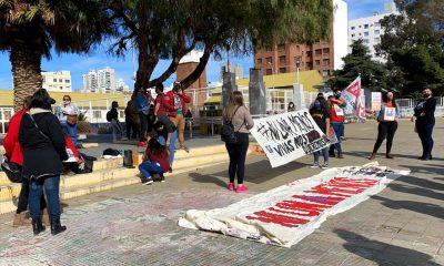 Marcha por el femicidio de Yanina Montes en Comodoro