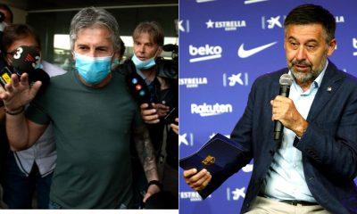 Reunión de padre de Messi y Bartomeu
