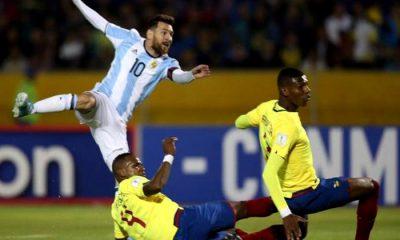 Argentina el 8 de octubre ante Ecuador