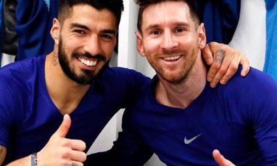 Messi despidió a Suárez