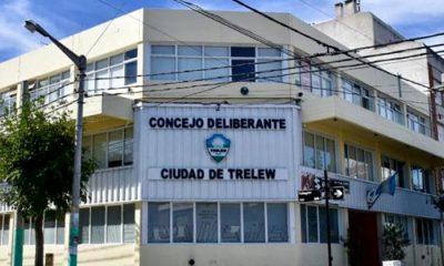 Concejo Deliberante Trelew posible caso positivo