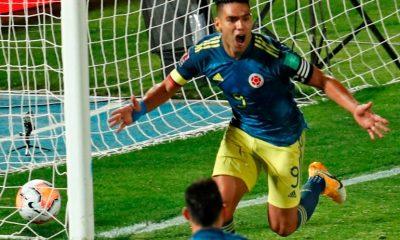 Falcao le dio el empate agónico a Colombia ante Chile