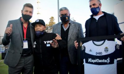 Gimnasia le regaló un triunfo a Diego en el día de su cumpleaños 60