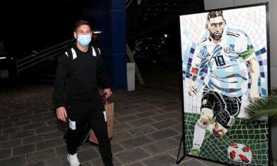 Messi llegó al país y se sumó a la selección para las Eliminatorias
