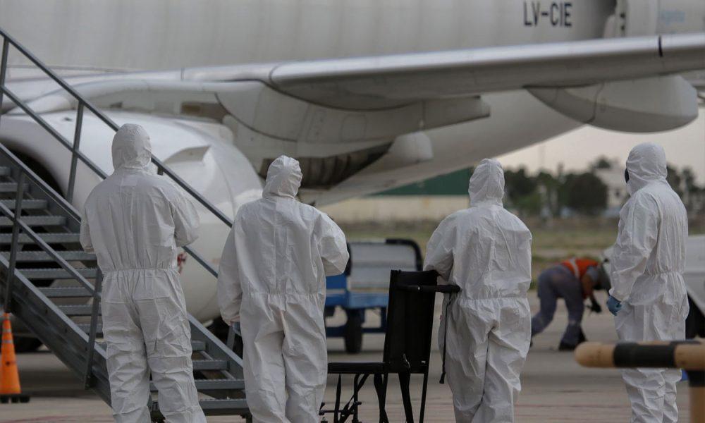 Primer vuelo a Trelew en medio de la pandemia